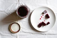 pickled beets w honey.