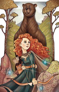 Brave by chrissie-zullo.deviantart.com on @deviantART