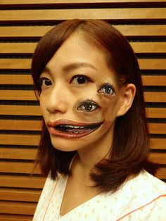48 Incredible Body Art Illusions Will Blow Your Mind -  #art #creepy #illusion