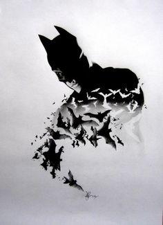 Cousins amazing pencil only batman drawing. amazing pencil only batman drawing Batman Tattoo, Comic Tattoo, Le Joker Batman, Batman Art, Batman Wallpaper, Batman Poster, Illustration Batman, Marvel Avengers, Batman Kunst