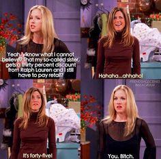 Friends Funny Moments, Friends Tv Quotes, Friends Scenes, Funny Friend Memes, Friends Episodes, I Love My Friends, Friends Show, Funny Quotes, Netflix