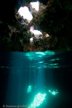 Thunderball Grotto by Susanna Girolamo, via Flickr