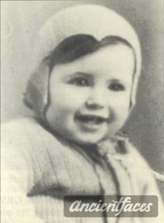 Photo taken before deportation. Francis Levy was deported to Auschwitz in 1944 and gassed to death at age 6 months