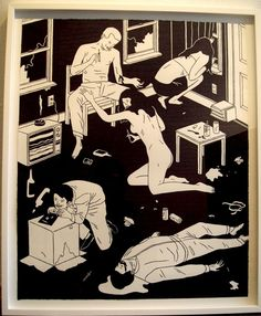 Cleon Peterson 2009  New Image Art, Los Angeles, CA
