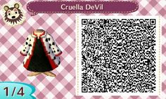 Ooh, how evil!! Makes me want to sing the Cruella DeVil song.  >:D (click link for rest of QR code)