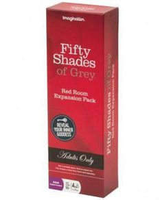 FIFTY SHADES OF GREY RED ROOM EXPANSION PACK GAME,REVEAL YOUR INNER GODDESS