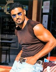 Shemar Moore Chocolate man with style