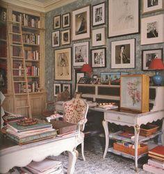 charlotte moss interiors | charlotte moss' study | interiors