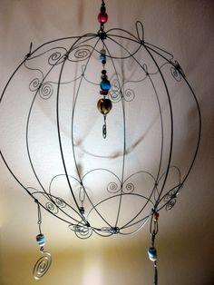 Esfera da alambre - adorno - wire