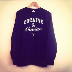 #Crooksandcastles #Cocaine&Caviar Crewnecks in stock www.houseoftreli.com