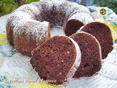 Torta al cioccolato con nocciole e amaretti  Blog Profumi Sapori & Fantasia