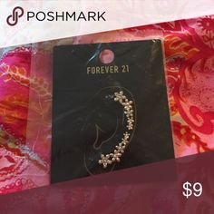Brand new earrings coming in one pair Color gold follower shape earrings in one pair Forever 21 Jewelry Earrings