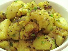 Madhur Jaffrey's Cauliflower and Potatoes