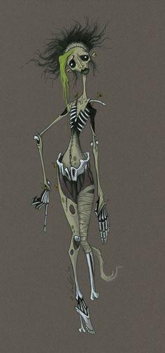 gris grimly | Gris Grimly's Frankenstein: November 2010