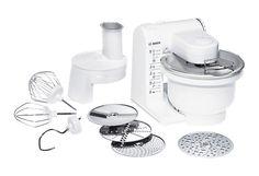 Bosch Küchenmaschine »MUM4427« für 84,90€. 500 Watt, 4 Schaltstufen/Arbeitsgeschwindigkeiten, Kunststoff-Rührschüssel für bis zu 1 kg Mehl + Zutaten bei OTTO