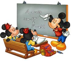 Mickey-School-blackboard.jpg (421×360)