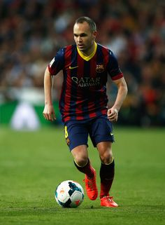e198f3e488e Andres Iniesta of Barcelona in action during the La Liga match between Real  Madrid CF and