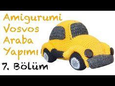 Amigurumi Vosvos Araba Yapımı - Bölüm 3 - YouTube