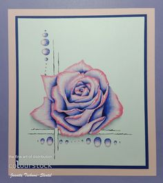 Roses and gemstones. Made with Copics Scrapbook Cards, Scrapbooking, Copic Markers, Copics, Art Blog, Watercolor Tattoo, Fine Art, Gemstones, Europe