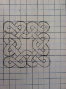 DO YOU LIKE CELTIC KNOTS??? YEAH??? HERE'S HOW TO MAKE THEM!! A'ight, a'ight, What you need: • Graph paper • Pencil with a good eraser • Patience! Got those things?? Good. To start with, draw out some...