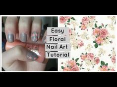 Easy Floral Nail Art Tutorial - Nails By Emma