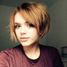 20  Latest Short Hairstyles for Round Face Shape - Love this Hair