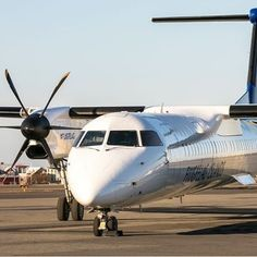 Summer is here ☀️ #bombardier #Q400 #reykjavik #airport #airplane #airiceland