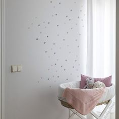 Items similar to Heart Decals - Mini hearts Wall Decal - Vinyl Wall Sticker Decal- Nursery Decor - Hearts wall stickers- Nursery wall stickers on Etsy Nursery Wall Stickers, Vinyl Wall Stickers, Wall Stickers Hearts, Baby Room Decor, Nursery Decor, Heart Wall Decor, Heart Decorations, Home Decor, Amelie