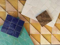 Collection Creative, zelliges Ventura Project  Milan Design Week 2016 Ateliers Zelij www.zelij.com