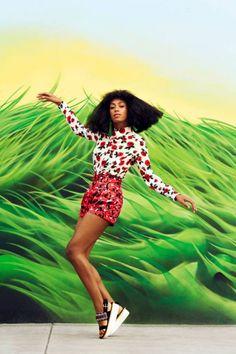 Snapshot: Solange Knowles by Julia Noni for Harper's Bazaar