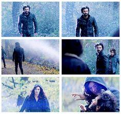 Luke and Jocelyn - delected scene