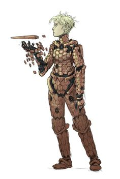 Awesome SF armor. By Peter Wartman.