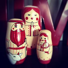 Nativity russian dolls = LOVE!!!