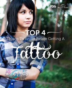 What you need to know about the risks of tattoos before you get one. #ink
