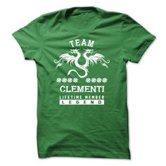 (Tshirt Awesome T-Shirt) SPECIAL CLEMENTI Life time member Top Shirt design Hoodies Tees Shirts