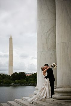 Thomas Jefferson Memorial West Lawn Wedding Ceremony