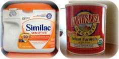 Something to keep in mind when we have kids - look at the first 2 ingredients of Similac!