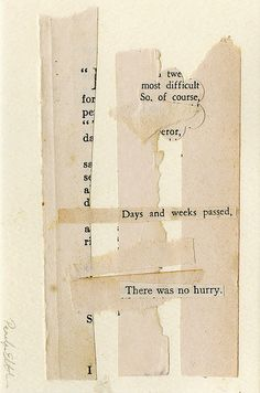 There was no hurry by Sparrowsalvage, via Flickr