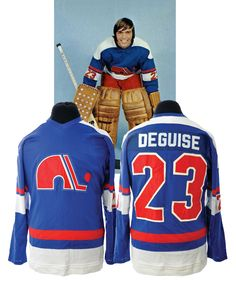 242a4c91c Lot Detail - Michel Deguise s 1974-75 WHA Quebec Nordiques Game-Worn Jersey  - Rare Style!