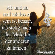 Spruch: Tanzen ist ein Gespräch zwischen Körper und Seele ...