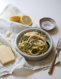 Fiddlehead Creamy Lemon Pasta