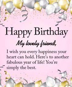 Happy Birthday Friend Celebration Quotes Girl Poems