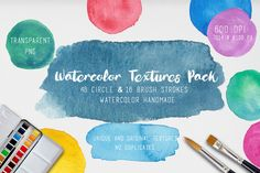 Watercolor Textures. 64 background - Textures watercolor background, watercolor circles, circle shaped, circle textures, original texture, watercolor textures, textures handmade, brush textures, brush strokes, set shapes, kit textures for design, watercolor design kit, backgrounds pack, backgrounds set, acuarela set texturas, texturas en acuarela, texturas, colorful textures, original spots watercolor, design kit, texture logo, illustration watercolor