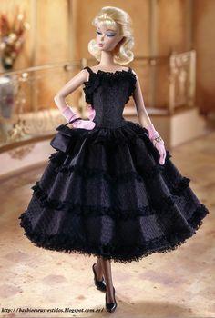 Barbie E Seus Vestidos: 2002 - Black Enchantment™ Fashion
