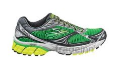 Brooks Ghost 4 Pavement/metallic Silver/lime Punch $123.84