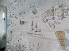 L' Oreal Office Loreal, Vintage World Maps, Projects, Gingham, Log Projects, Blue Prints