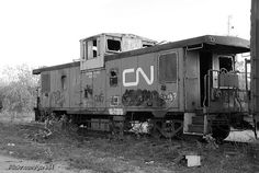 No more choo-choo for this caboose.