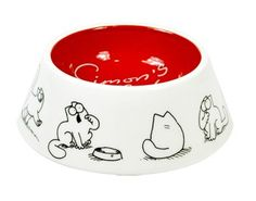 "Ii want this cat dish. >>> If you don't yet know what ""Simon's Cat"" videos are...and you are a cat-owner...TO THE INTERWEBS WITH YOU!!"