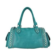 ❤ liked on Polyvore featuring bags, handbags, purses, accessories, blue handbags, blue purse and blue bag