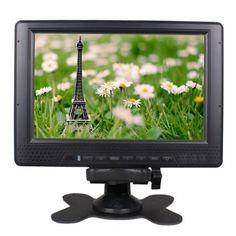 """7"""" camera top monitor V-71Y w/ built-in battery (2200mAh/7.4V), HDMI, YPbPr, AV inputs"""